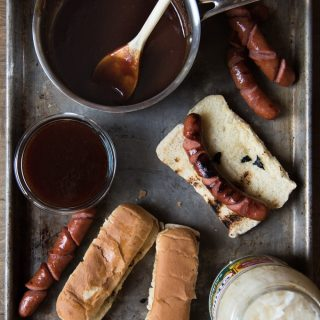Sweet & Sticky Copycat J Dawgs Hot Dog Sauce