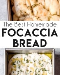 The best homemade focaccia bread