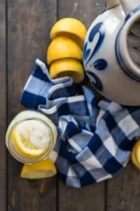 fresh squeezed homemade lemonade