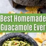 Best homemade guacamole ever