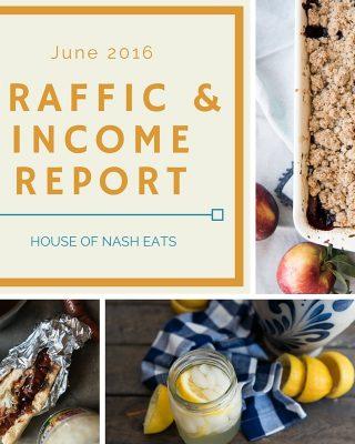 Traffic & Income Report