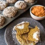Pumpkin Streusel Muffins with Cream Cheese Filling