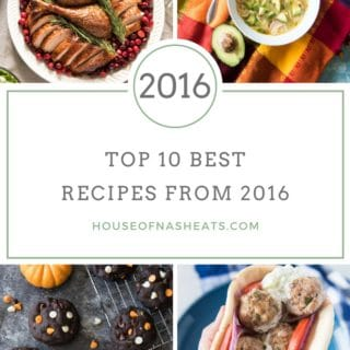 Top 10 Best Recipes from House of Nash Eats in 2016