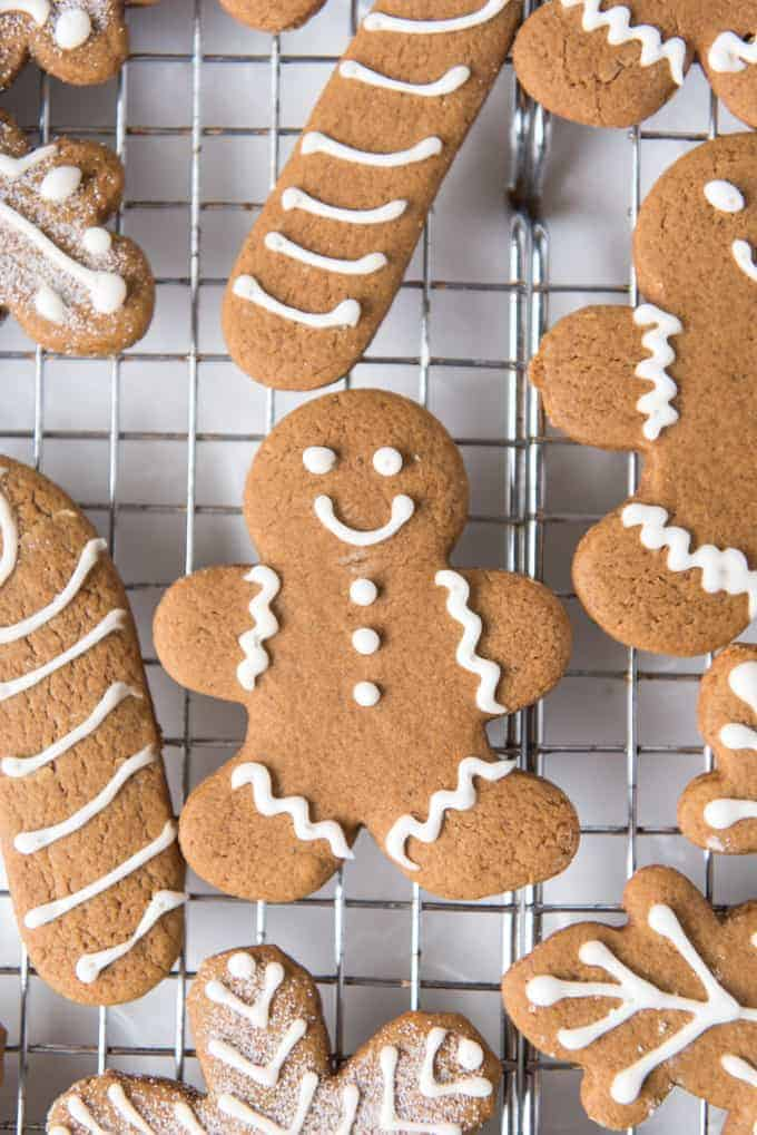 Soft Chewy Gingerbread Men Cookies House Of Nash Eats