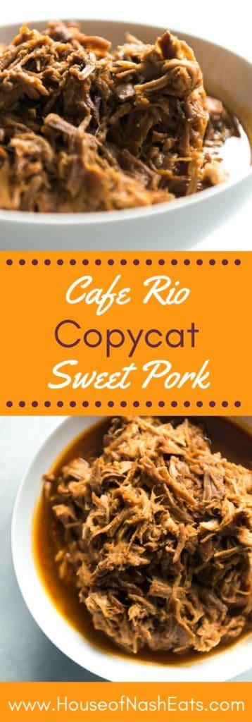 Cafe Rio Sweet Pork Barbacoa Calories