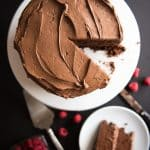 Devil's Food Chocolate Cake with Chocolate Buttercream Frosting