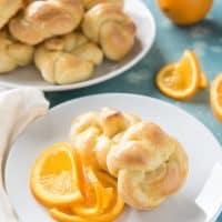 Deborah's Knotted Orange Sweet Rolls