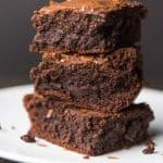 Thick, Fudgy, Chewy, Ultimate Brownies