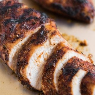 Grilled Cajun Chicken Dry Rub Seasoning