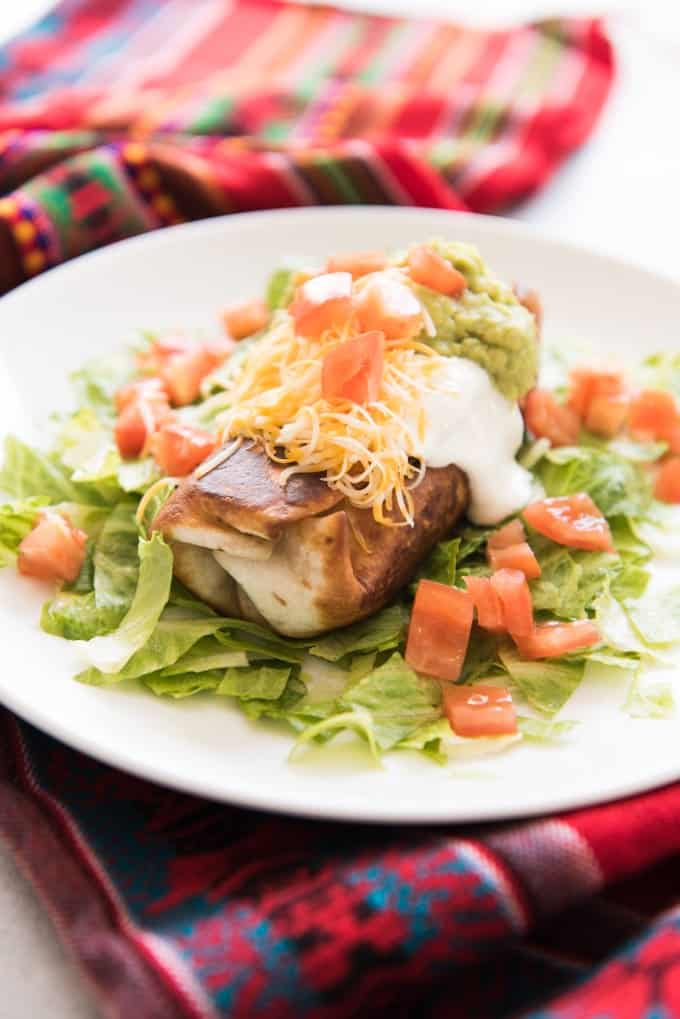 Shredded Beef Chimichangas - House of Nash Eats