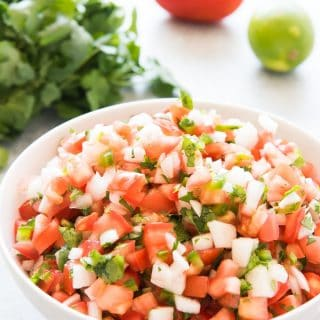 Fresh, Authentic Pico De Gallo
