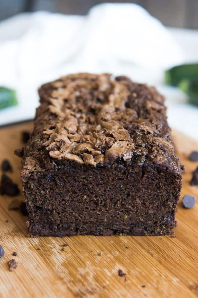 Chocolate Chip Zucchini Snack Cake