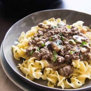 Best Ground Beef Stroganoff Recipe