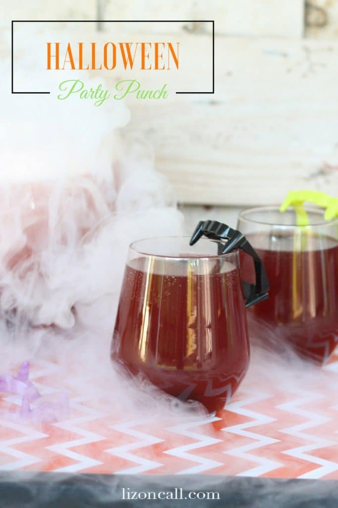 Halloween Party Punch is perfect for your Spooky Halloween Party Menu Plan!