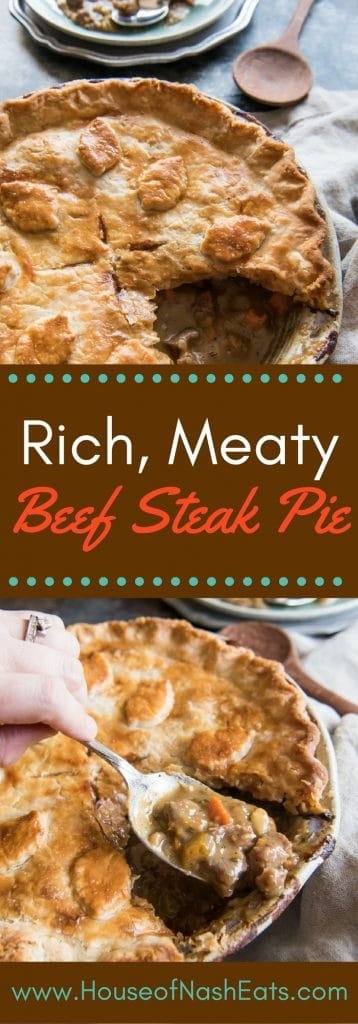 Beef Steak Pie Recipe - Historically Hungry - House of ...