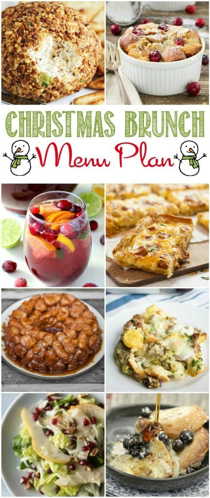 Start a great new tradition by hosting a brunch this holiday season for friends you love using this Christmas Brunch Menu Plan! Come together and enjoy the best foods and flavors of the season with these sensational seasonal recipes!