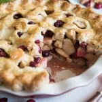 Cranberry Apple Pie – #BakingBloggers