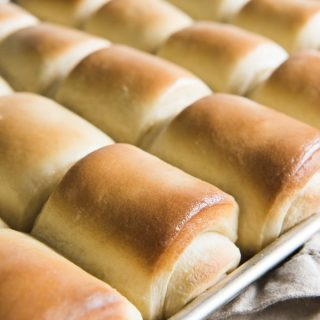 Every Thanksgiving, Christmas, and Easter, these soft, buttery, homemade Lion House Dinner Rolls grace our table. Of all the roll recipes I have tried (and loved), these are the ones that get made most often at our house, and for good reason. They really are the best!