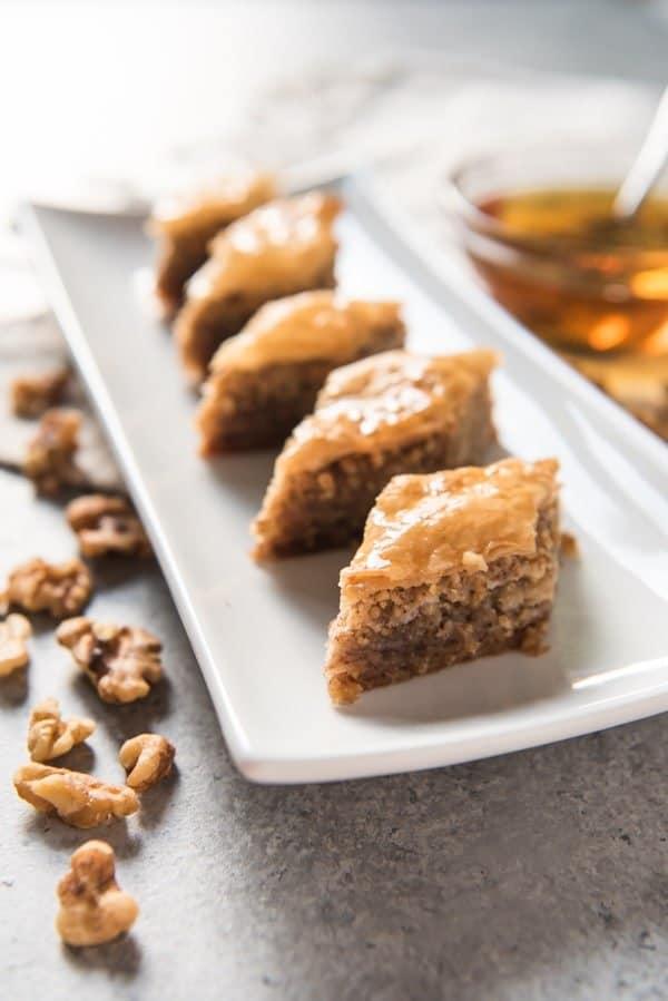 Greek Baklava Recipe House Of Nash Eats