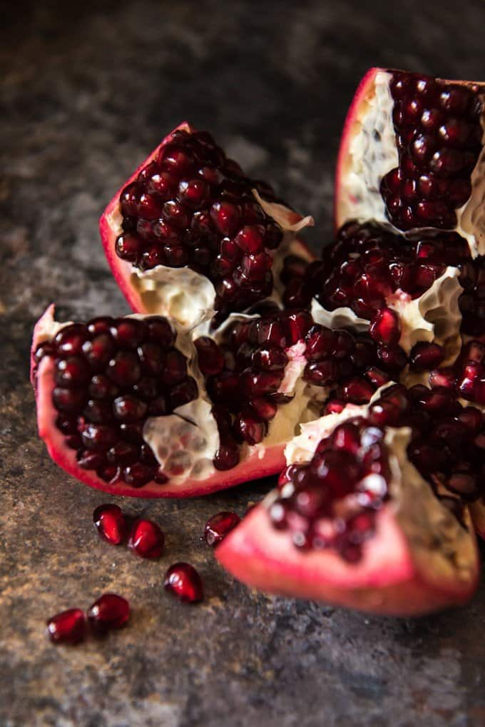 It's easier than you might think to open a pomegranate and remove the pomegranate arils or seeds.
