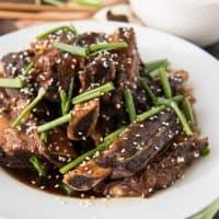 Slow Cooker Korean Beef Short Ribs (Kalbi)