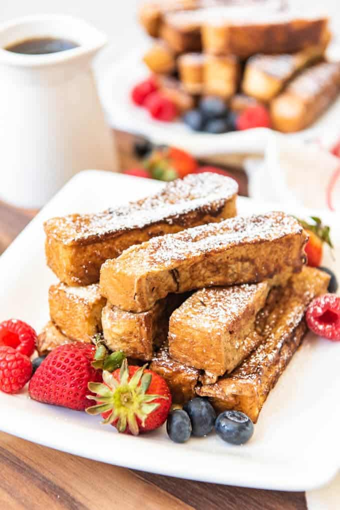 Cinnamon French Toast Sticks House Of Nash Eats