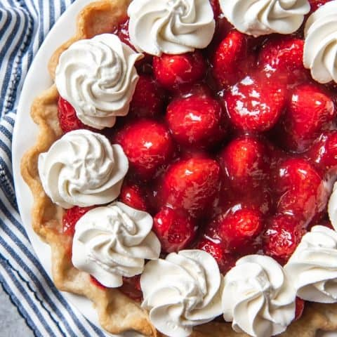 The Best Fresh Strawberry Pie No Jello House Of Nash Eats