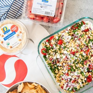 Easy Greek 7 Layer Dip