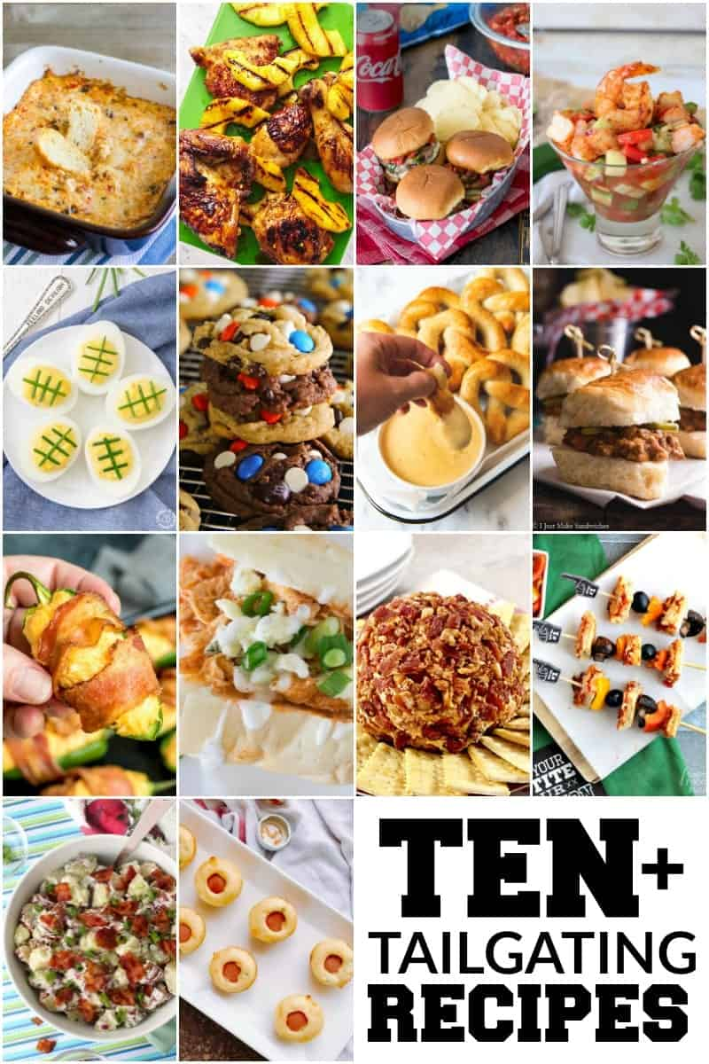 ten+ tailgating recipes