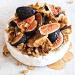 Baked Brie with Figs, Walnuts, and Honey