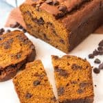 Chocolate Chip Pumpkin Bread | #PumpkinWeek