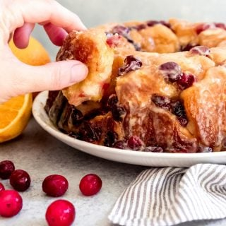 Cranberry Orange Pull-Apart Monkey Bread