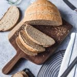 This Easy Homemade Rye Bread made with caraway seeds tastes delicious and is a wonderful, wholesome change for sandwiches, toast, or just served with butter along with a meal.