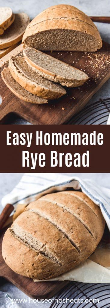easy homemade rye bread