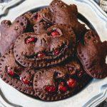 Halloween Chocolate Cherry Hand Pies | #HalloweenTreatsWeek