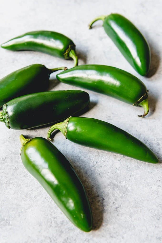 An image of fresh jalapeno peppers.