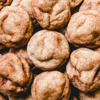 Your search for the best Snickerdoodle Cookies recipe is over!  This easy snickerdoodle recipe is my go-to for this cinnamon-sugar coated, soft and chewy sugar cookie recipe that is a perennial classic!