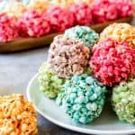 Easy Marshmallow Popcorn Balls – #SpringSweetsWeek