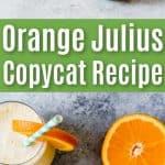 orange julius copycat recipe