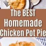 the best homemade chicken pot pie