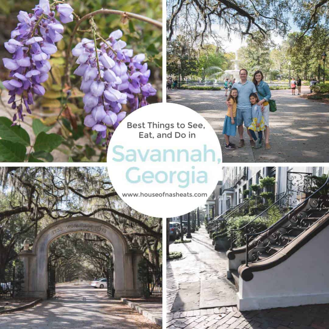Folks, if Savannah, Georgia isn't already on your bucket list, it should be!  Savannah is a lovely Southern town on the Georgia coast that is chock-full of beautiful sights, delicious food, and interesting stories.  These are the best things to see, eat, and do for a first-timer in Savannah, Georgia.