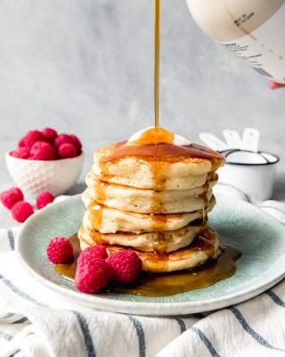 Hoecakes [easy cornmeal pancakes] are light, fluffy, and quick to griddle up for a tasty breakfast or dinner side! Also called johnnycakes, ashcakes, or a dozen other names, this unfussy recipe with wonderful texture and corn flavor is sure to please!