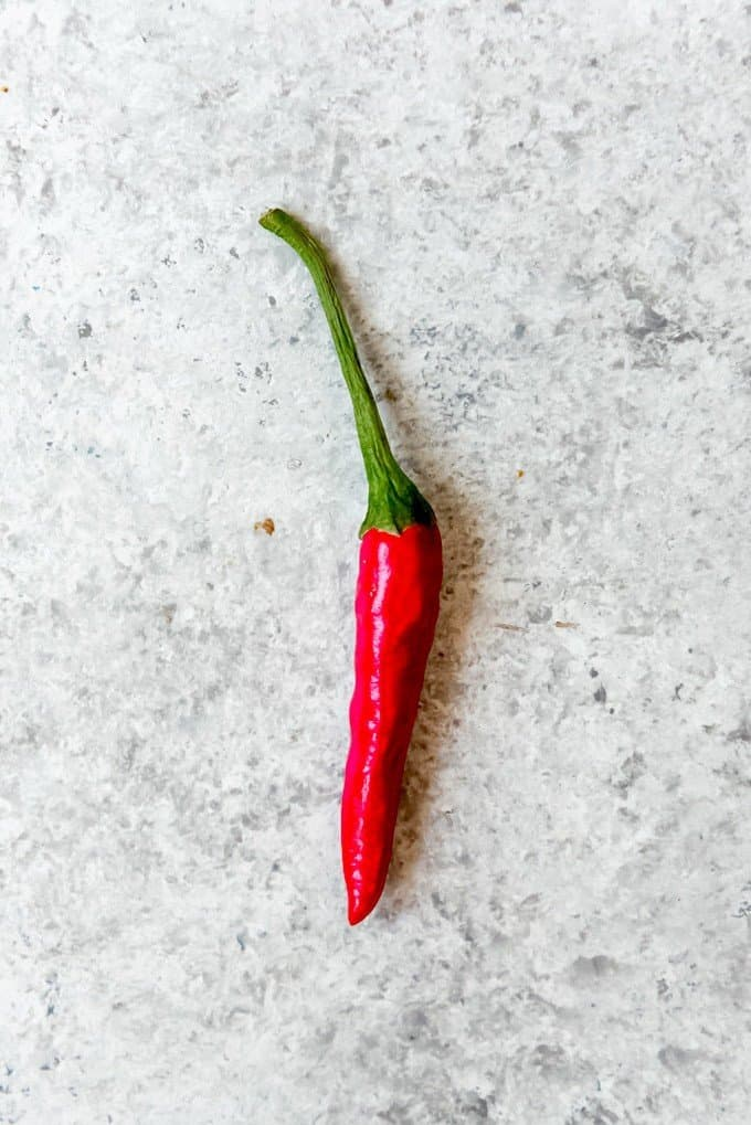An image of a Thai chili pepper.