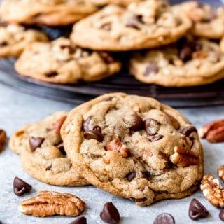 Pecan Chocolate Chip Cookies