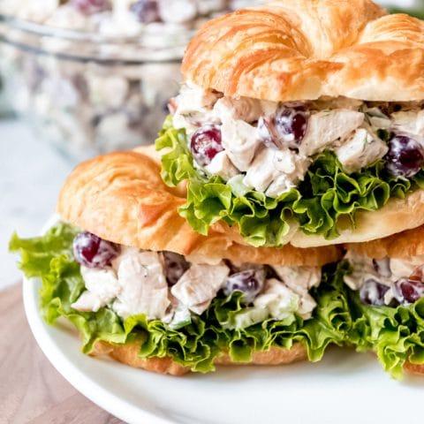 Chicken Salad Recipe Red Grapes
