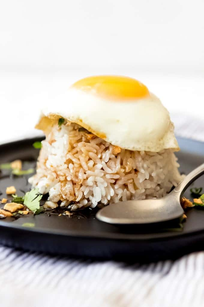 Garlic Rice with Fried Egg