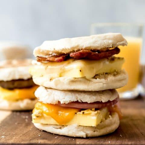Make Ahead Breakfast Sandwiches House