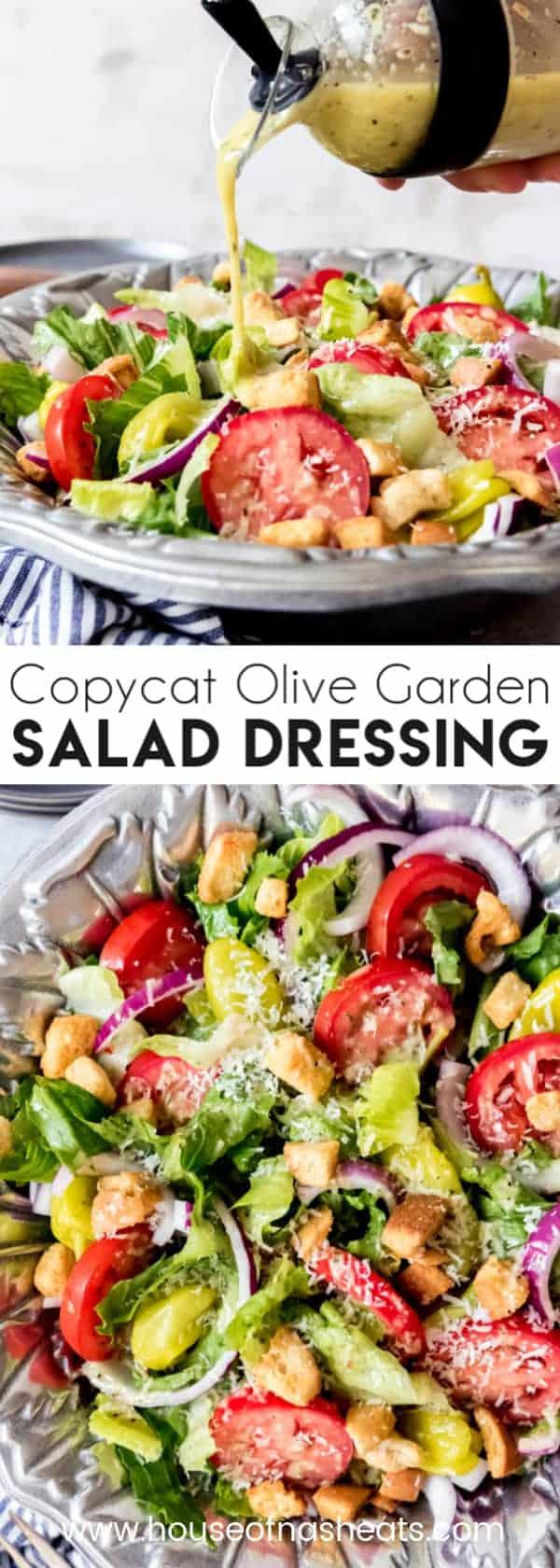 Olive Garden Salad Dressing Recipe House Of Nash Eats