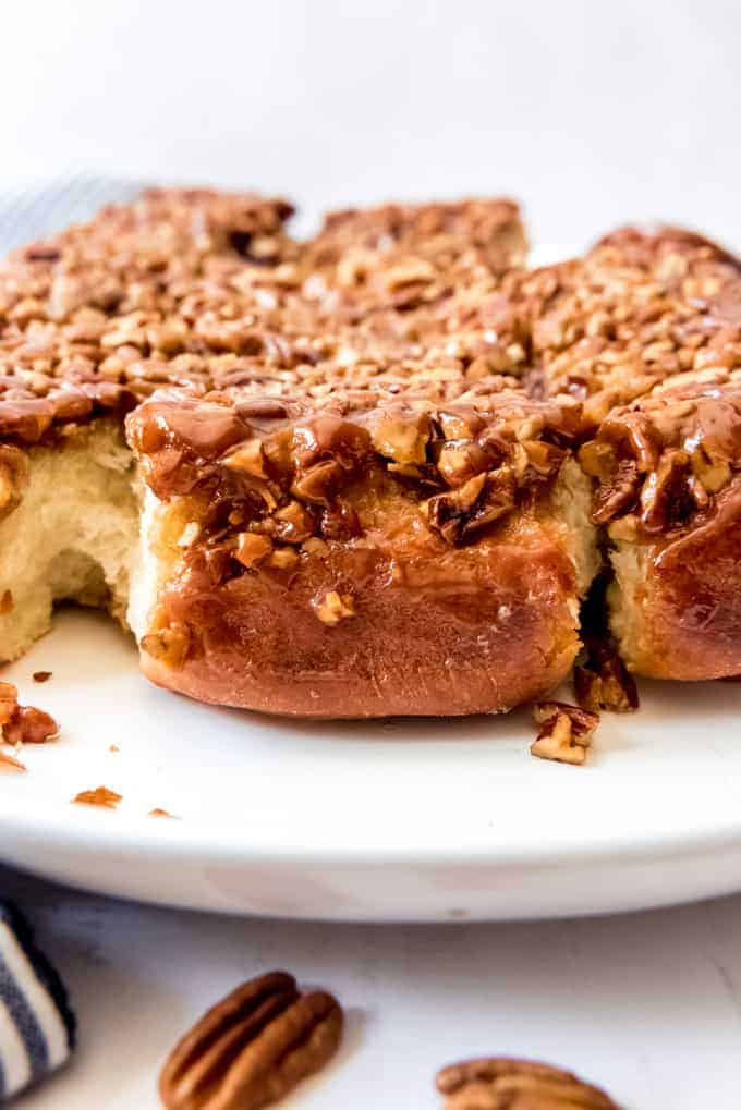 An image of pecan sticky buns.
