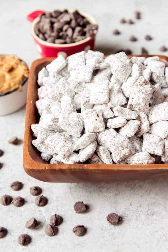 An image of Chex muddy buddies.